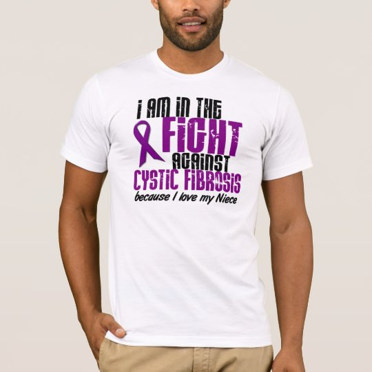 In The Fight Against Cystic Fibrosis NIECE T-Shirt