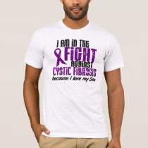 In The Fight Against Cystic Fibrosis SON T-Shirt