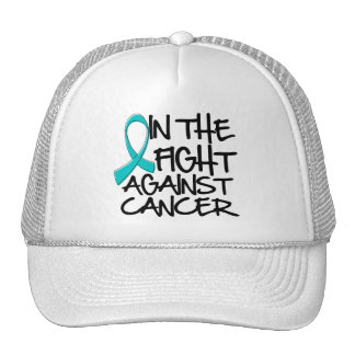 In The Fight Against Gynecologic Cancer Trucker Hat
