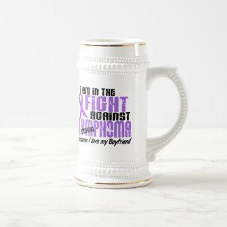 In The Fight Against Hodgkin's Lymphoma Boyfriend Beer Stein