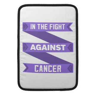In The Fight Against Hodgkins Lymphoma MacBook Air Sleeve
