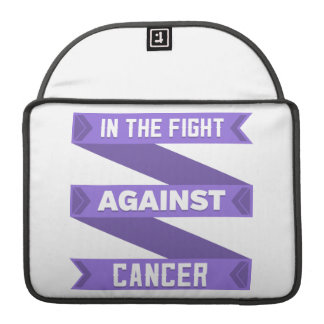 In The Fight Against Hodgkins Lymphoma MacBook Pro Sleeves