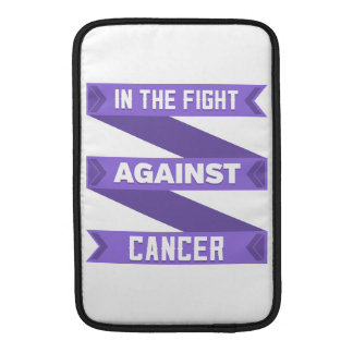 In The Fight Against Hodgkins Lymphoma MacBook Sleeve