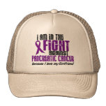 In The Fight Against Pancreatic Cancer GIRLFRIEND Mesh Hat