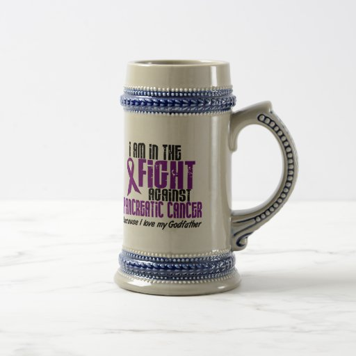 In The Fight Against Pancreatic Cancer GODFATHER Coffee Mug
