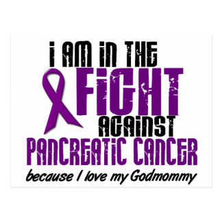 In The Fight Against Pancreatic Cancer GODMOMMY Postcard