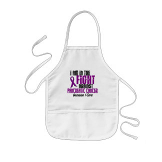In The Fight Against Pancreatic Cancer I CARE Kids' Apron