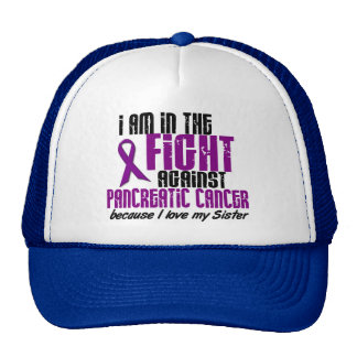 In The Fight Against Pancreatic Cancer SISTER Trucker Hat
