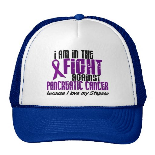 In The Fight Against Pancreatic Cancer STEPSON Trucker Hat