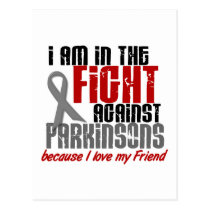 In The Fight Against Parkinson's Disease FRIEND Postcard
