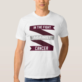 In The Fight Against Throat Cancer T-shirt