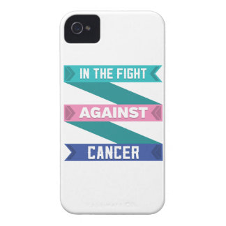 In The Fight Against Thyroid Cancer iPhone 4 Case