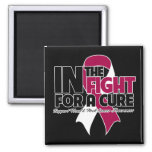 In The Fight For a Cure - Head and Neck Cancer Refrigerator Magnets