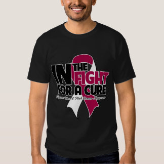 In The Fight For a Cure - Head and Neck Cancer T Shirt