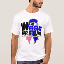 In The Fight For a Cure - Male Breast Cancer T-Shirt