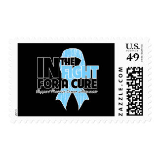 In The Fight For a Cure - Prostate Cancer Postage Stamp