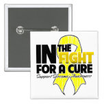 In The Fight For a Cure - Sarcoma Pinback Button