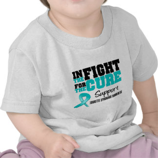In The Fight For The Cure Tourette Syndrome Tees