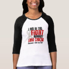 In The Fight Lung Cancer DAD T-Shirt