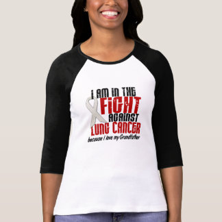 In The Fight Lung Cancer GRANDFATHER T-Shirt