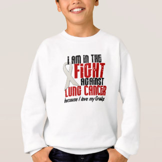 In The Fight Lung Cancer GRANDPA Sweatshirt
