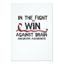 In The Fight To Win Against Brain Aneurysm Aware Card