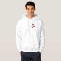 In The Fight To Win Against Brain Aneurysm Aware Hoodie