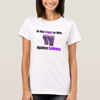 In the Fight to Win Against Epilepsy T-Shirt
