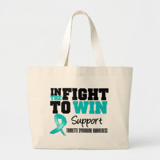 In The Fight To Win Tourette Syndrome Tote Bag