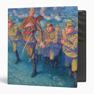 In the Firing Line, 1916 3 Ring Binder