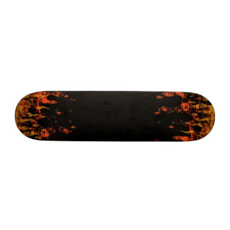 in the flames skateboard deck