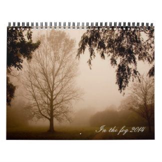 In the fog 2015 calendar