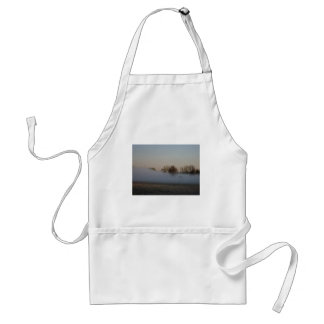 In The Fog Adult Apron
