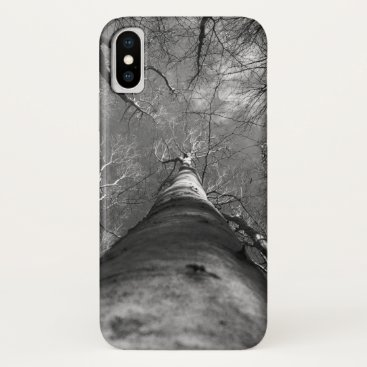 Beach Themed in the forest iPhone x case