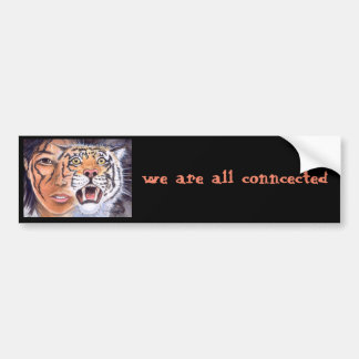 in the forest of the night bumper sticker