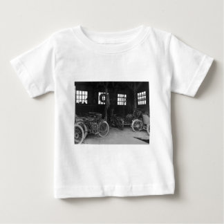 In the Garage Vintage WWII Baby T-Shirt