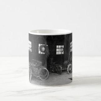 In the Garage Vintage WWII Coffee Mug