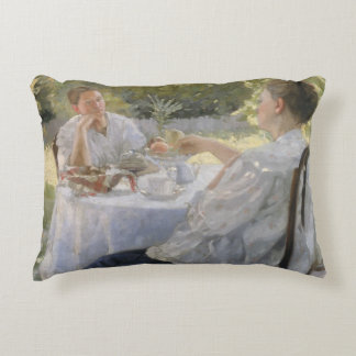 In the Garden, 1911 Decorative Pillow
