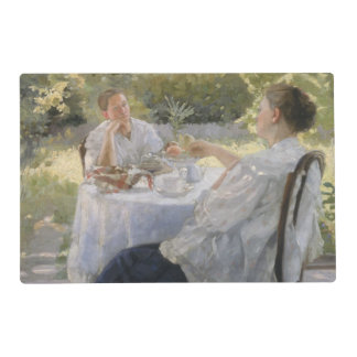 In the Garden, 1911 Placemat