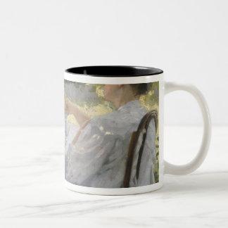 In the Garden, 1911 Two-Tone Coffee Mug