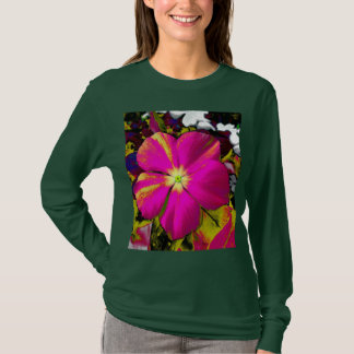 In the Garden at Midnight Custom Floral T-Shirt
