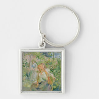 In the Garden at Roche-Plate, 1894 Keychain
