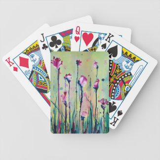 In the Garden Bicycle Playing Cards