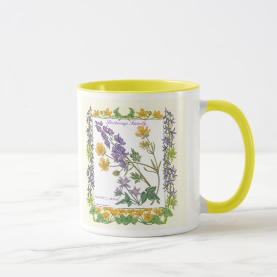 In the Garden ~ Buttercup Family Mug