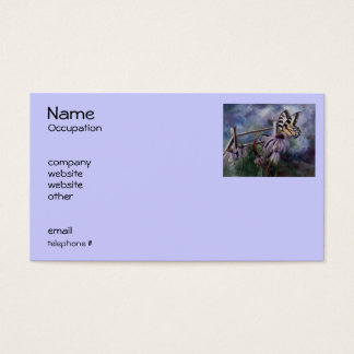 In the Garden Butterfly Business Cards