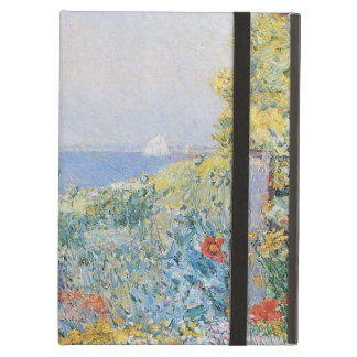 In the Garden by Childe Hassam, Vintage Fine Art Cover For iPad Air