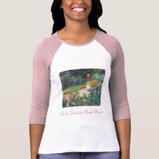 In the Garden by Claude Monet T-Shirt