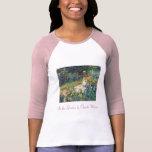 In the Garden by Claude Monet Tee Shirt