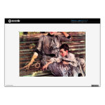 In the garden by Giovanni Boldini Large Netbook Skins
