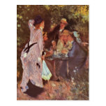 In the Garden by Renoir Postcard